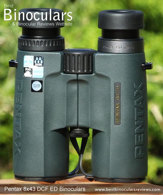 Pentax 8x43 DCF ED Binoculars