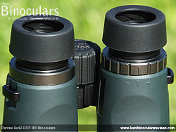 Diopter Adjustment on the Pentax 9x42 DCF BR Binoculars