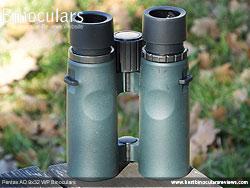 Underside of the Pentax AD 9x32 WP Binoculars