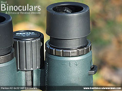 Diopter Adjustment on the Pentax AD 9x32 WP Binoculars