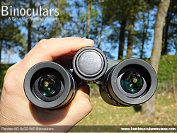 Focusing the Pentax AD 9x32 WP Binoculars