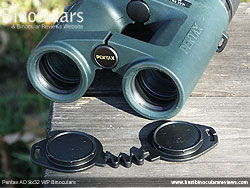Objective Lens cover for the Pentax AD 9x32 WP Binoculars