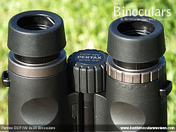 Diopter Adjustment on the Pentax DCF NV 8x36 Binoculars