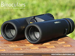 Objective Lenses on the Pentax DCF NV 8x36 Binoculars