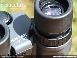 Diopter Adjustment on the Pentax Papilio 8.5x21 Binoculars