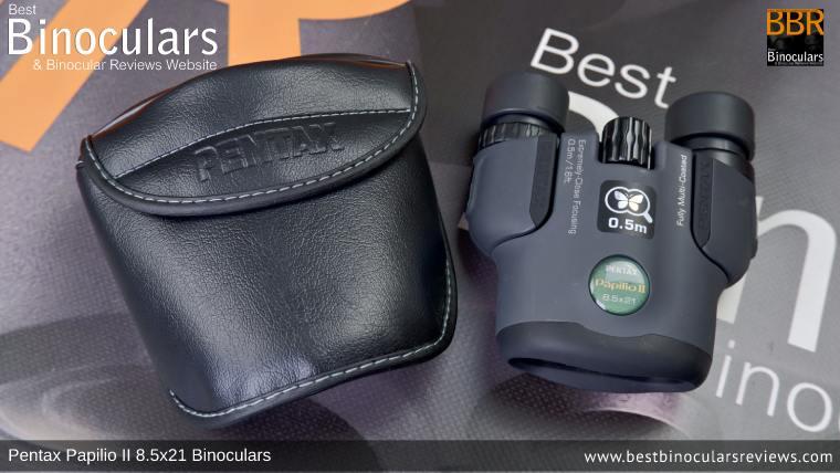 Pentax Papilio II 8.5x21 Binoculars Carry Case