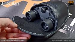 Inside the Carry Case & Pentax Papilio II 8.5x21 Binoculars