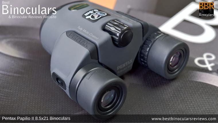 Focusing the Pentax Papilio II 8.5x21 Binoculars