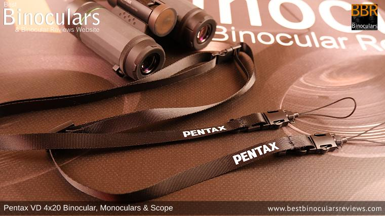 Neck Strap for the Pentax VD 4x20 Binoculars, Monocular & Spotting Scope