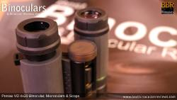 Twist-Up Eyecups on Pentax VD 4x20 Binoculars, Monocular & Spotting Scope