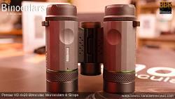 Underside of the Pentax VD 4x20 Binoculars, Monocular & Spotting Scope