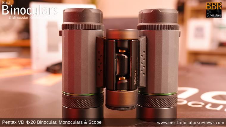 Pentax VD 4x20 Binoculars, Monocular & Spotting Scope