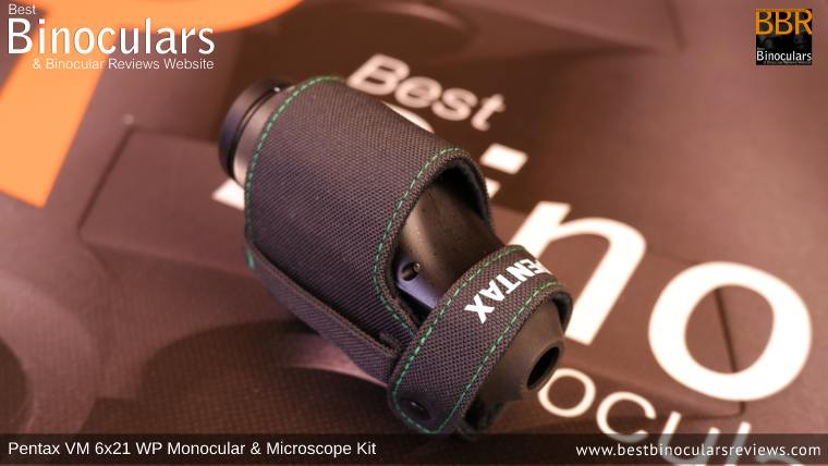 Pentax VM 6x21 WP Monocular & Microscope Carry Case