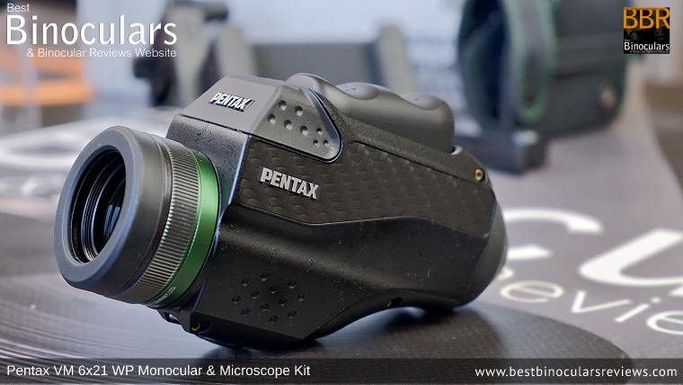 Pentax VM 6x21 WP Monocular & Microscope