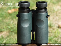 Rear of the Pentax ZD 8x43 ED Binoculars
