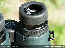 Diopter Adjustment on the Pentax ZD 8x43 ED Binoculars