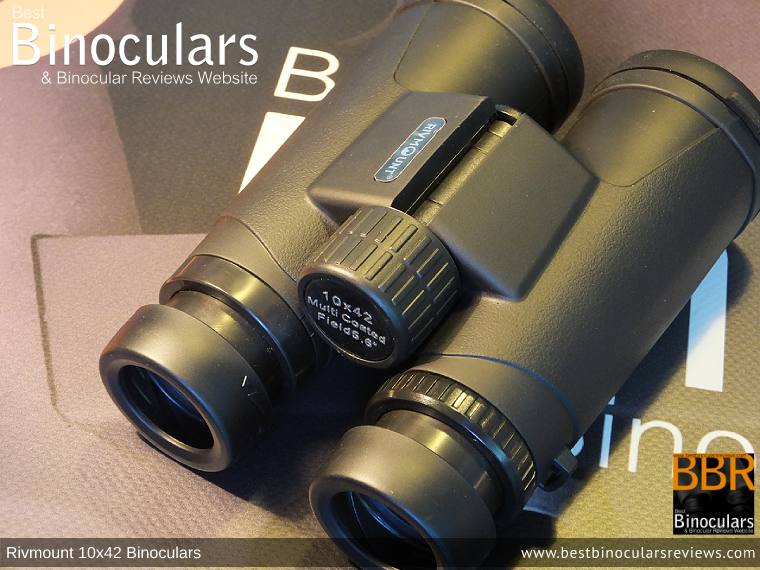 Focus Wheel on the Rivmount 10x42 Binoculars