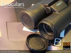 Objective Lens Covers on the Rivmount 10x42 Binoculars