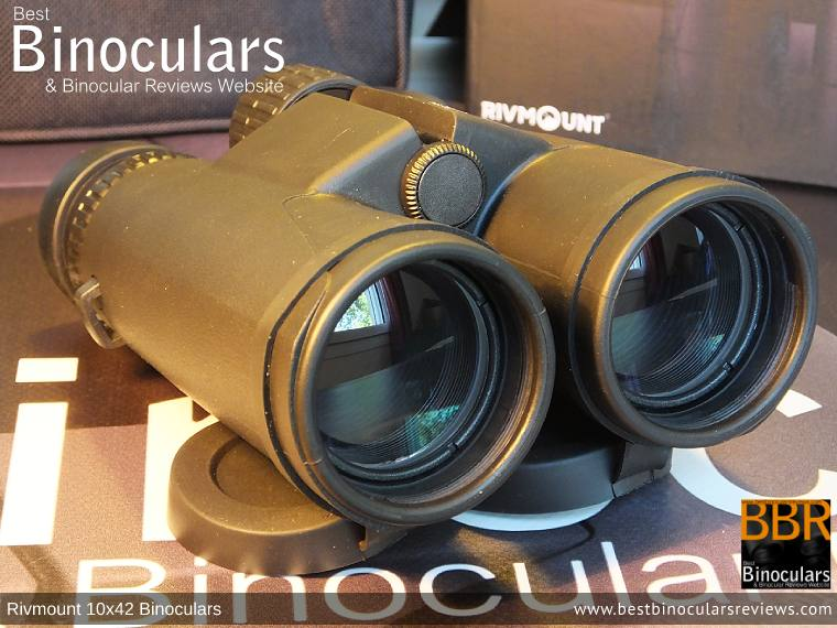 42mm Objective Lenses on the Rivmount 10x42 Binoculars