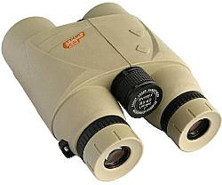 Rear view of the SNYPEX Knight LRF 8x42 Laser Rangefinder Binoculars