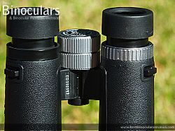 Diopter Adjustment on the Snypex Knight D-ED 8x32 Binoculars