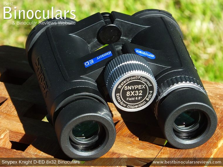 Focus Wheel on the Snypex Knight D-ED 8x32 Binoculars