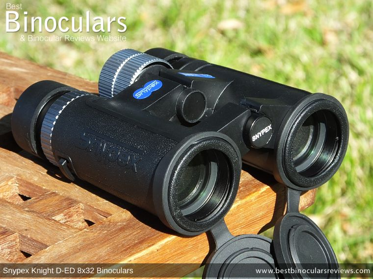 Objective Lenses on the Snypex Knight D-ED 8x32 Binoculars