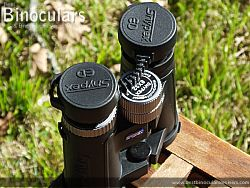 Rain Guard on the Snypex Knight D-ED 8x32 Binoculars