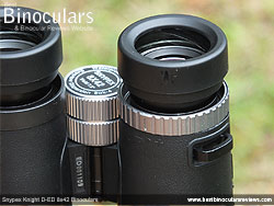 Diopter Adjustment on the Snypex Knight D-ED 8x42 Binoculars