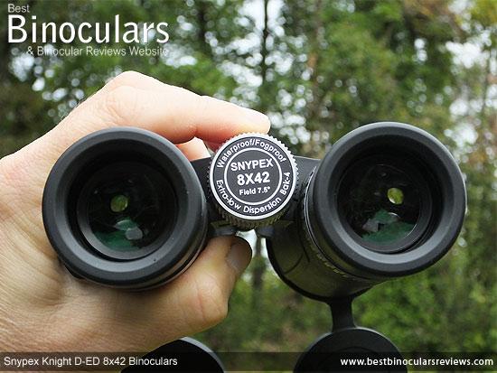 Focusing the Snypex Knight D-ED 8x42 Binoculars
