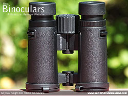 Underside of the Snypex Knight ED 10x32 Binoculars
