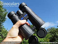 Openbridge design of the Snypex Knight ED 10x50 Binoculars