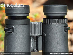 Diopter Adjustment on the Snypex Knight ED 8x42 Binoculars