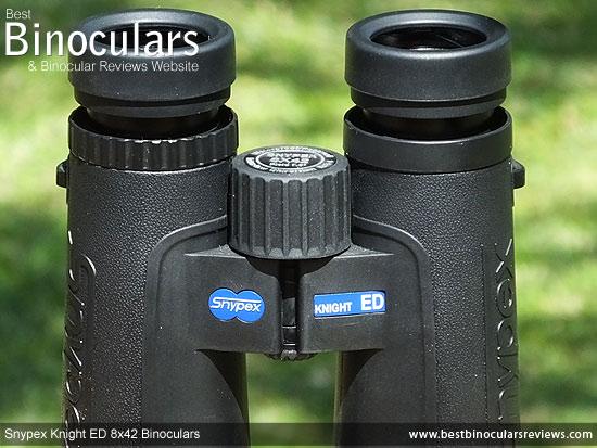 Focus Wheel on the Snypex Knight ED 8x42 Binoculars