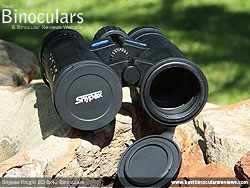Lens Covers on the Snypex Knight ED 8x42 Binoculars