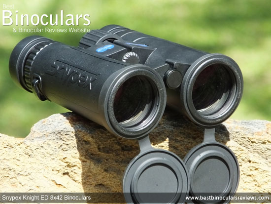 Objective Lenses on the Snypex Knight ED 8x42 Binoculars