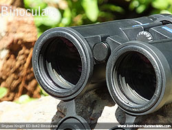 Neck strap on the Snypex Knight ED 8x42 Binoculars