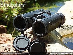 Openbridge design of the Snypex Knight ED 8x42 Binoculars