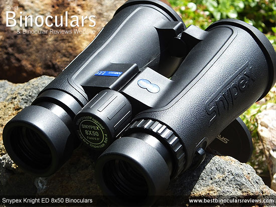 Focus Wheel on the 8x50 Snypex Knight ED Binoculars