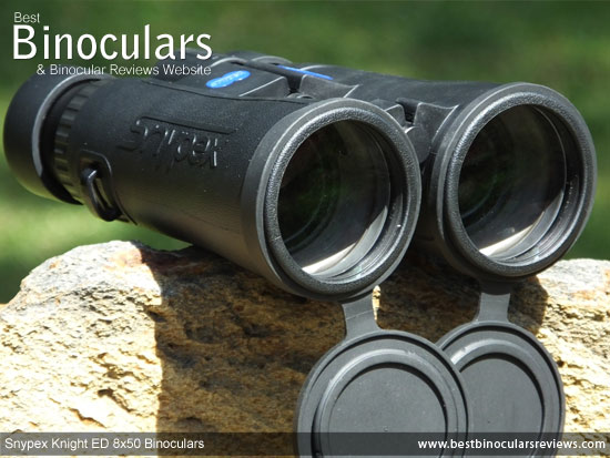 50mm Objective Lenses on the Snypex Knight ED 8x50 Binoculars