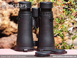 Openbridge design of the Snypex Knight ED 8x50 Binoculars