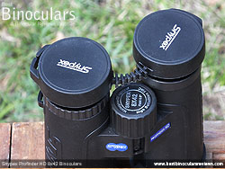 Rain Guard on the Snypex Profinder HD 8x42 Binoculars