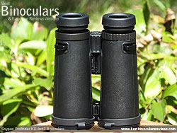 Underside of the Snypex Profinder HD 8x42 Binoculars