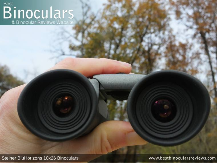 Adjusting the Focus Wheel on the Steiner BluHorizons 10x26 Binoculars