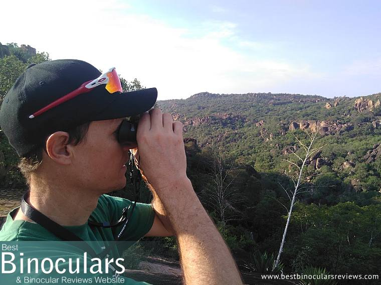 On safari with the Steiner BluHorizons 10x26 Binoculars