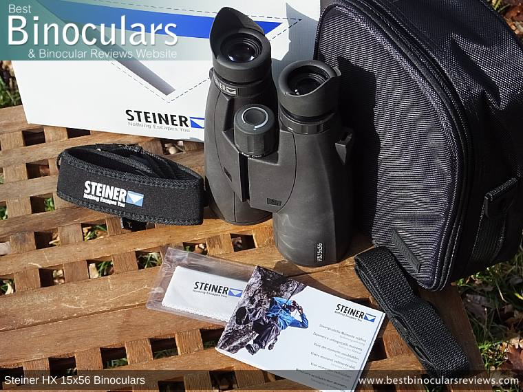 Accessories for the Steiner HX 15x56 Binoculars