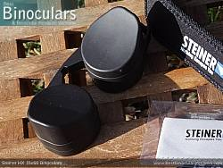 Rain Guard on the Steiner HX 15x56 Binoculars