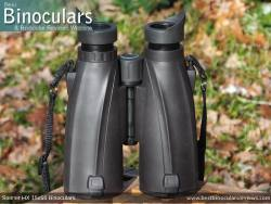 Underside of the Steiner HX 15x56 Binoculars