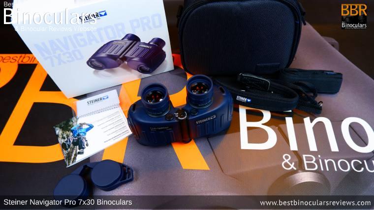 Accessories for the Steiner Navigator Pro 7x30 binoculars