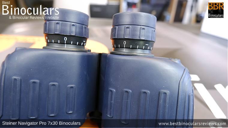 Diopter Adjustment on the Steiner Navigator Pro 7x30 binoculars